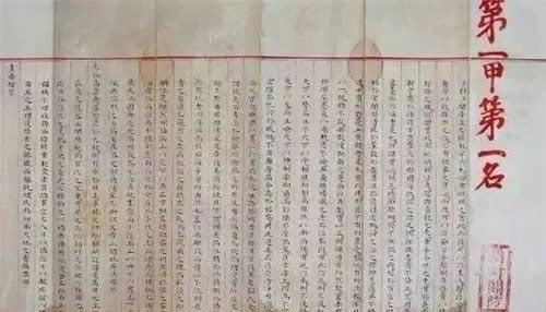 Lộ diện bài thi của một trạng nguyên khiến cả thế giới thất kinh vì bút tích như bản in từ sách hiện đại