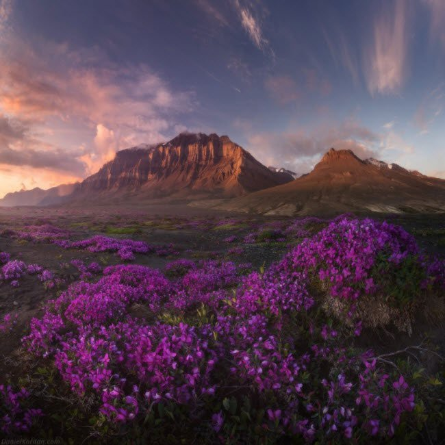 """""""Lộ diện"""" vùng đất đẹp nhất trên Trái đất"""