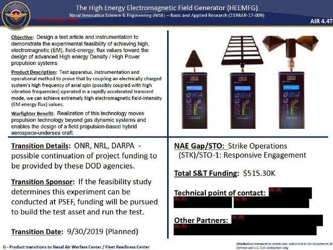 Lộ tài liệu chứng minh Hải quân Mỹ đang thử nghiệm loại vũ khí chỉnh sửa không thời gian