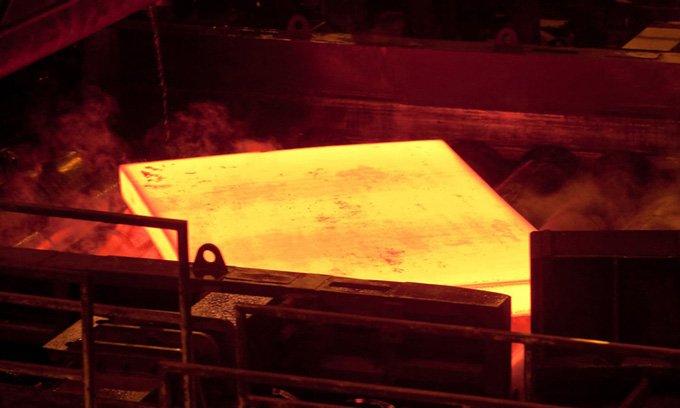 Lô thép không nhiên liệu hóa thạch đầu tiên trên thế giới