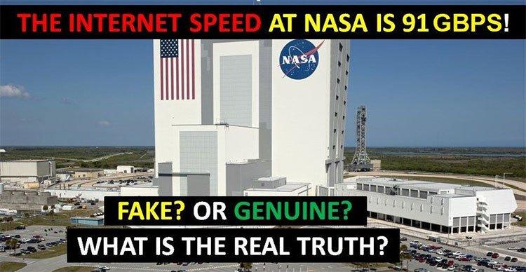 Lời đồn tốc độ Internet của NASA đạt mức 91 Gb/s, download phim chỉ trong 1 giây có phải là sự thật?