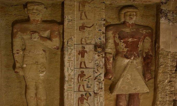 Lời nguyền xác ướptrong ngôi mộ nghìn năm ở Ai Cập
