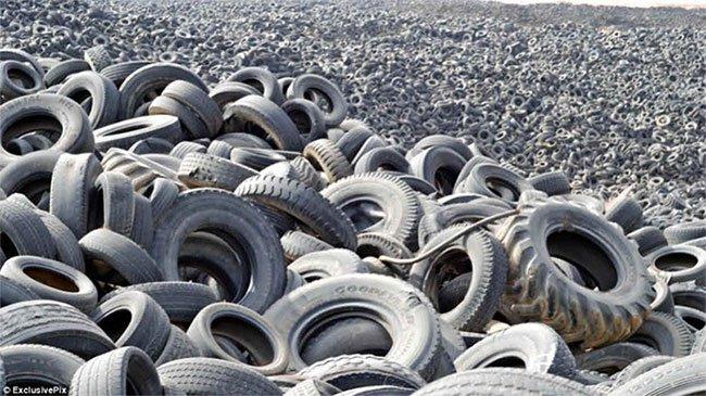 Lốp xe gây ô nhiễm ở biển – chuyện ít người biết