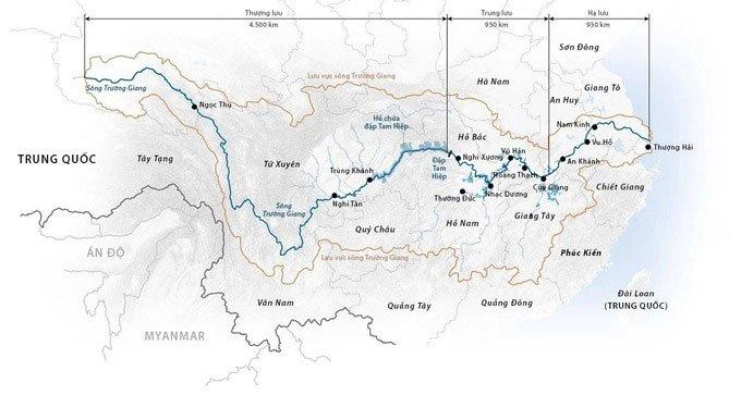 Lũ lớn kỷ lục đổ về đập Tam Hiệp