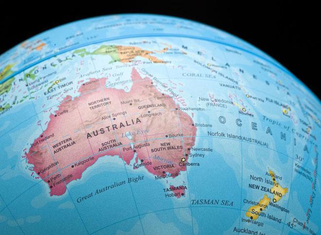 Lục địa châu Úc bơi quá nhanh, khiến hệ thống GPS sai lệch hết cả