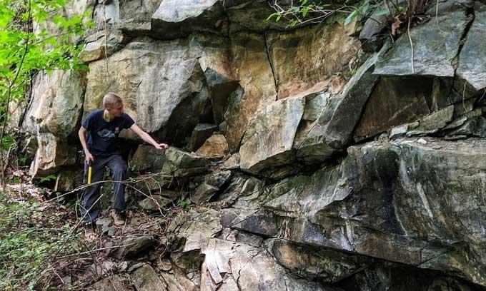 Mảnh vỡ của lớp phủ Trái đất phát lộ ở Mỹ