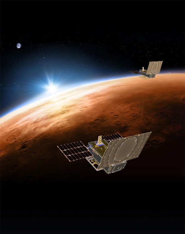 MarCO được vinh danh Sứ mệnh vệ tinh nhỏ của năm