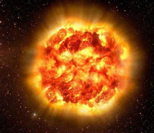 Mặt trời giãy chết sẽ trông như thế này