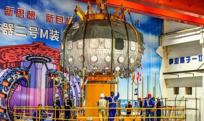 Mặt trời nhân tạo của Trung Quốc bắt đầu hoạt động