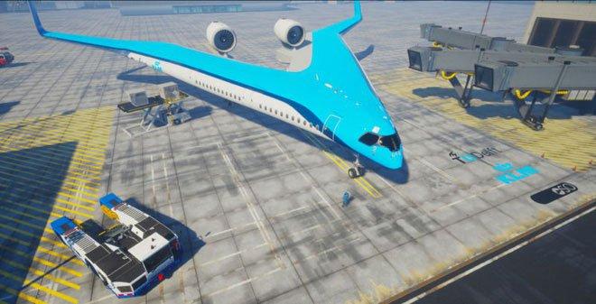 Máy bay hình chữ V đỡ tốn nhiên liệu hơn hẳn, nhưng sợ không ai dám đi thử vì lý do này