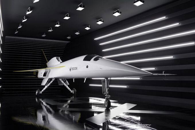 Máy bay siêu thanh 1.605km/h sẽ bay thử năm 2021