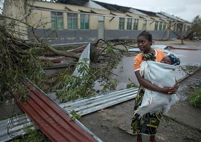 Miền Nam châu Phi thành đại dương nội địa sau siêu bão Idai