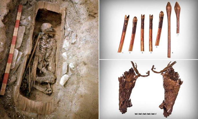 Mộ cổ thiếu nữ 2.600 tuổi hé lộ về những chiến binh trinh nữ