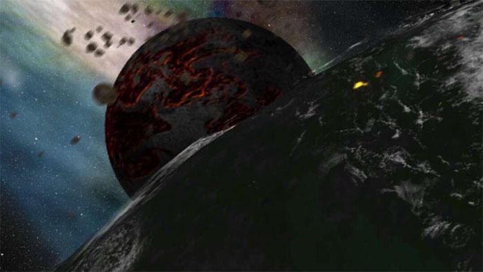 Mô phỏng tác động của thiên thạch với Trái đất cổ đại hình thành sự sống