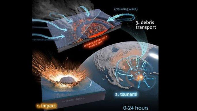 Một dạng sống khác trỗi dậy từ tiểu hành tinh giết khủng long?