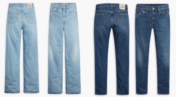 Mua một chiếc quần Levis mới, rất có thể bạn đang mặc một phần chiếc quần jeans cũ của một ai đó