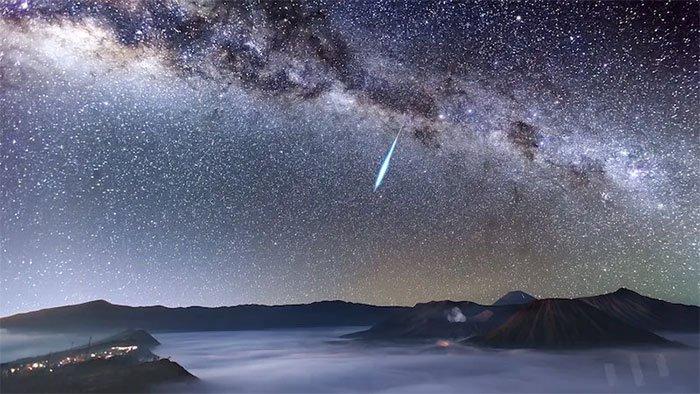 Mưa sao băng đáng chú ý xuất hiện vào tối thứ hai tới