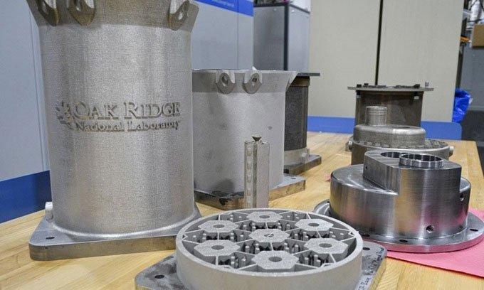 Mỹ in 3D lõi lò phản ứng hạt nhân