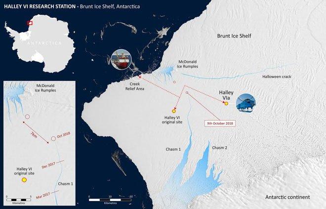 Nam Cực chuẩn bị đẻ cho nhân loại một đứa con to gấp đôi cả thành phố New York