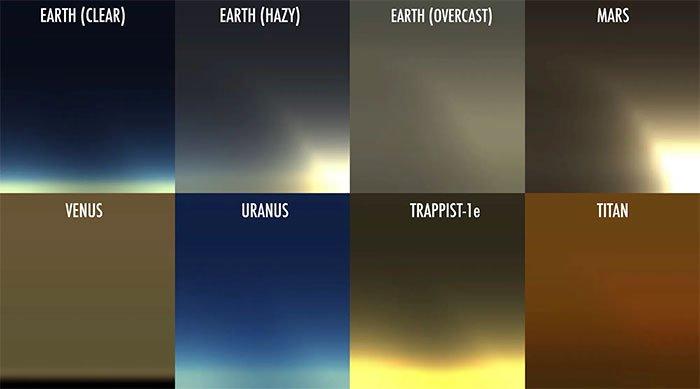 NASA công bố hình ảnh hoàng hôn khi nhìn từ hành tinh khác