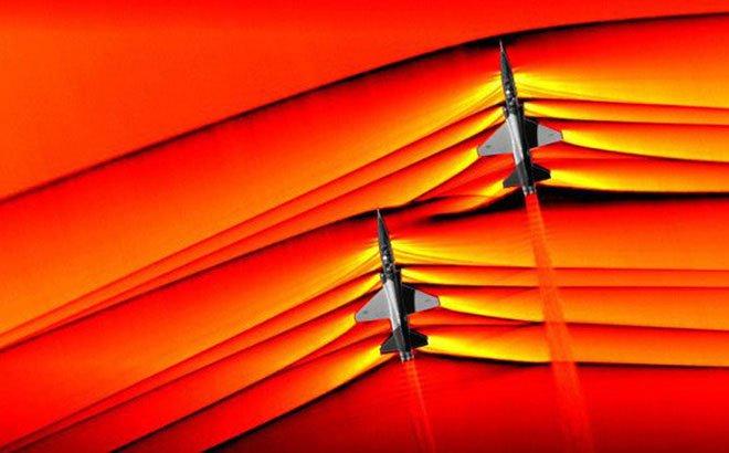 NASA công bố hình ảnh máy bay phá vỡ bức tường âm thanh