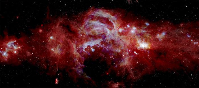 NASA công bố những hình ảnh chưa từng thấy về lõi Ngân Hà