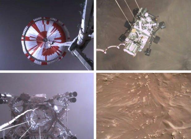 NASA công bố video nổi da gà của tàu đổ bộ xuống sao Hỏa