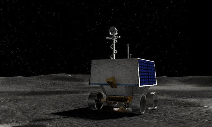 NASA đã chọn được địa điểm hạ cánh robot thăm dò Mặt trăng