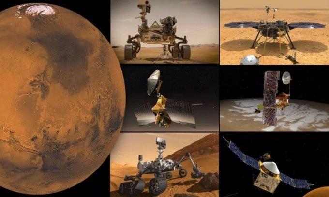 NASA mất liên lạc với các robot sao Hỏa trong hai tuần