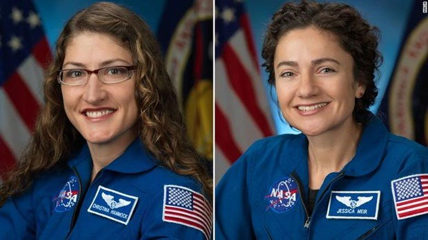 NASA sắp tổ chức đoàn đi bộ ra ngoài không gian gồm toàn nữ