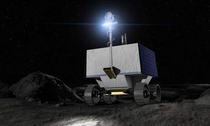 NASA sẽ đưa robot 433,5 triệu USD lên Mặt trăng