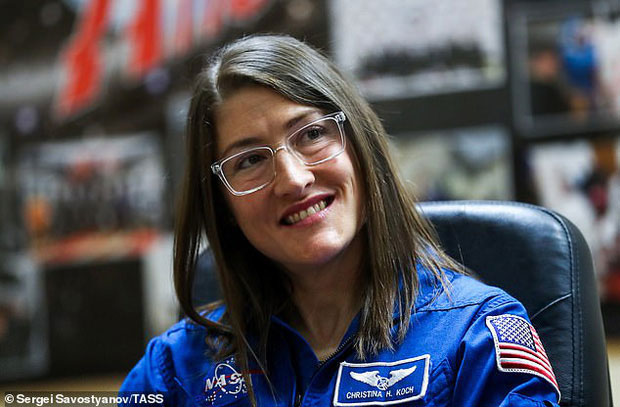 NASA xác lập một kỷ lục liên quan đến nữ phi hành gia: Lịch sử từ nay sẽ gọi tên Christina Koch