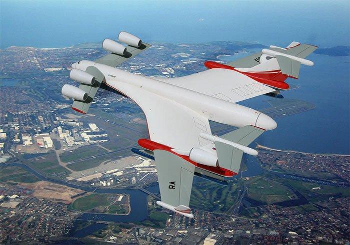 Nga chế tạo vận tải cơ lưỡng cư trọng lượng... 1.000 tấn
