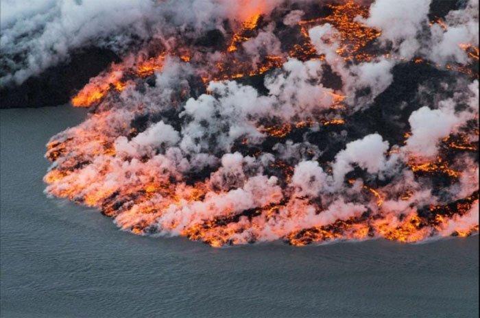 Ngắm nhìn những ngọn núi lửa đang hoạt động trên khắp thế giới