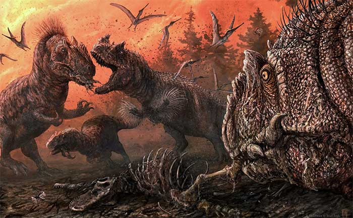 Nghiên cứu mới: Khủng long đã bị suy thoái trước cả khi thiên thạch va vào Trái đất