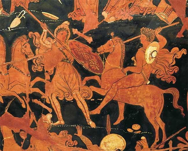 Ngôi mộ cổ hé lộ nữ chiến binh Amazon trong thần thoại Hy Lạp