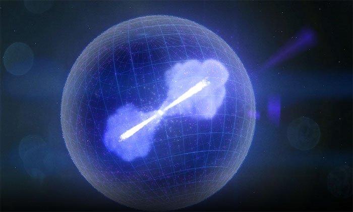 Ngôi sao chết phóng bức xạ mạnh kỷ lục vào Trái đất