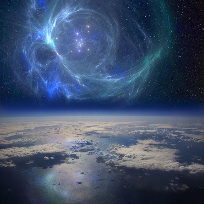 Ngôi sao phát nổ gần Trái đất, tiêu diệt cá mập khổng lồ