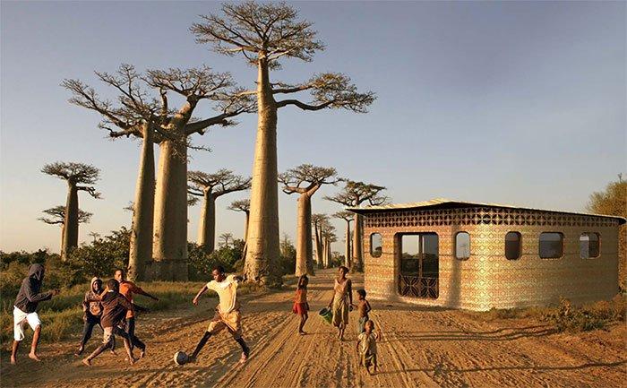 Ngôi trường in 3D đầu tiên trên thế giới có thể sẽ được xây dựng ở Madagascar