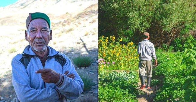 Người đàn ông hơn 20 năm làm nên điều kỳ diệu cho sa mạc