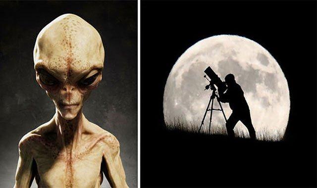 Người ngoài hành tinh đã xây dựng căn cứ trên Mặt trăng?
