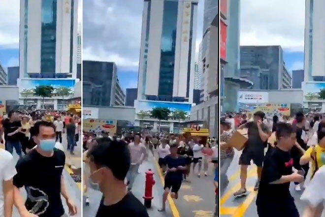 Nguyên nhân tháp chọc trời Trung Quốc rung lắc dữ dội dù không có động đất
