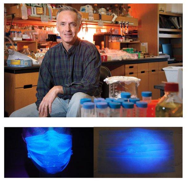 Nhà khoa học MIT phát triển những chiếc khẩu trang tự động phát sáng khi dính virus corona