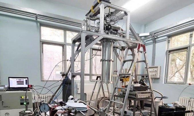 Nhà khoa học Trung Quốc chế tạo thành công tủ lạnh có nhiệt độ gần bằng độ 0 tuyệt đối