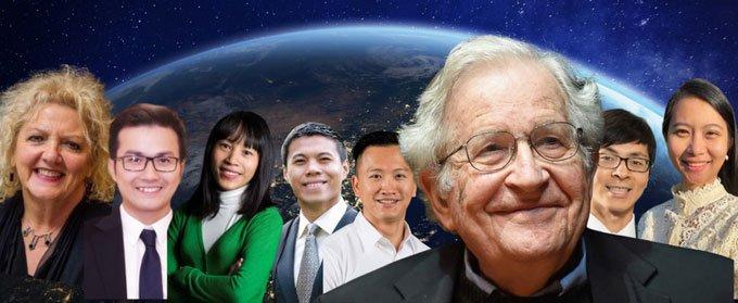 Nhà khoa học Việt đầu tiên được nhận giải Noam Chomsky