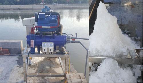 Nhà khoa học Việt tạo thiết bị biến nước biển thành đá tuyết