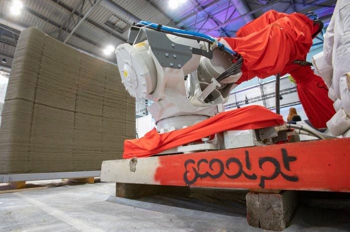 Nhà nổi in 3D hoàn thành trong 48 giờ, tồn tại một thế kỷ