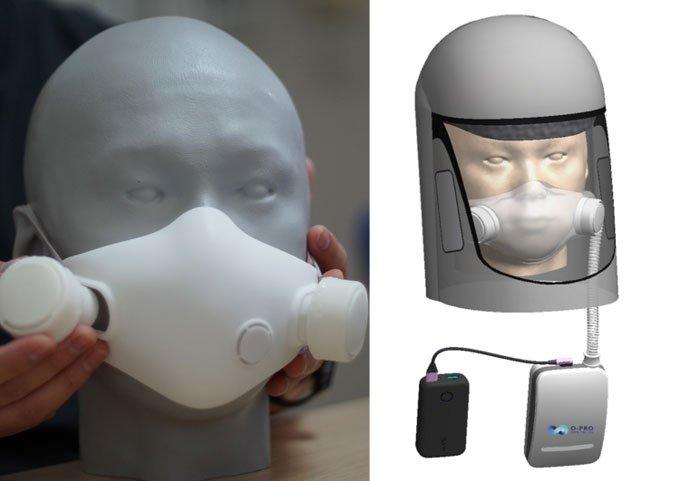 Nhà phát minh Trần Ngọc Phúc chế tạo khẩu trang làm mát phổi