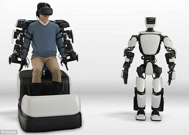 Nhật Bản phát triển robot Avatar như trong phim viễn tưởng