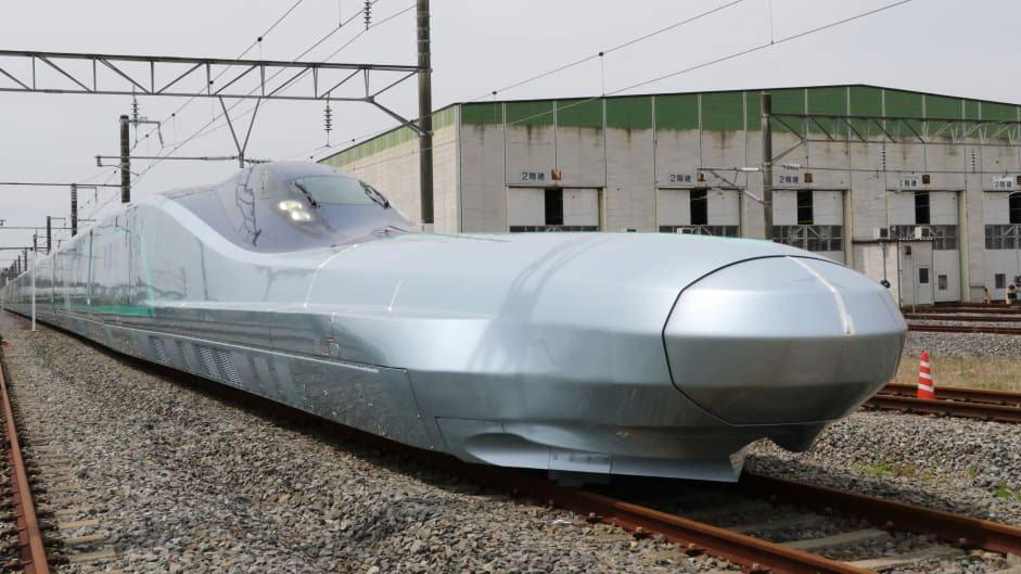 Nhật Bản thử nghiệm tàu hình viên đạn nhanh nhất thế giới, tới 400km/h